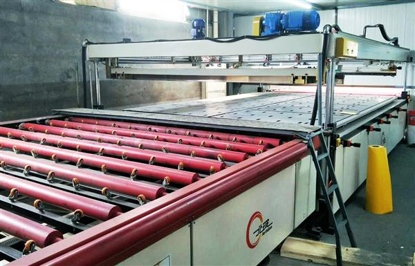 Enamelled Glass Production Line